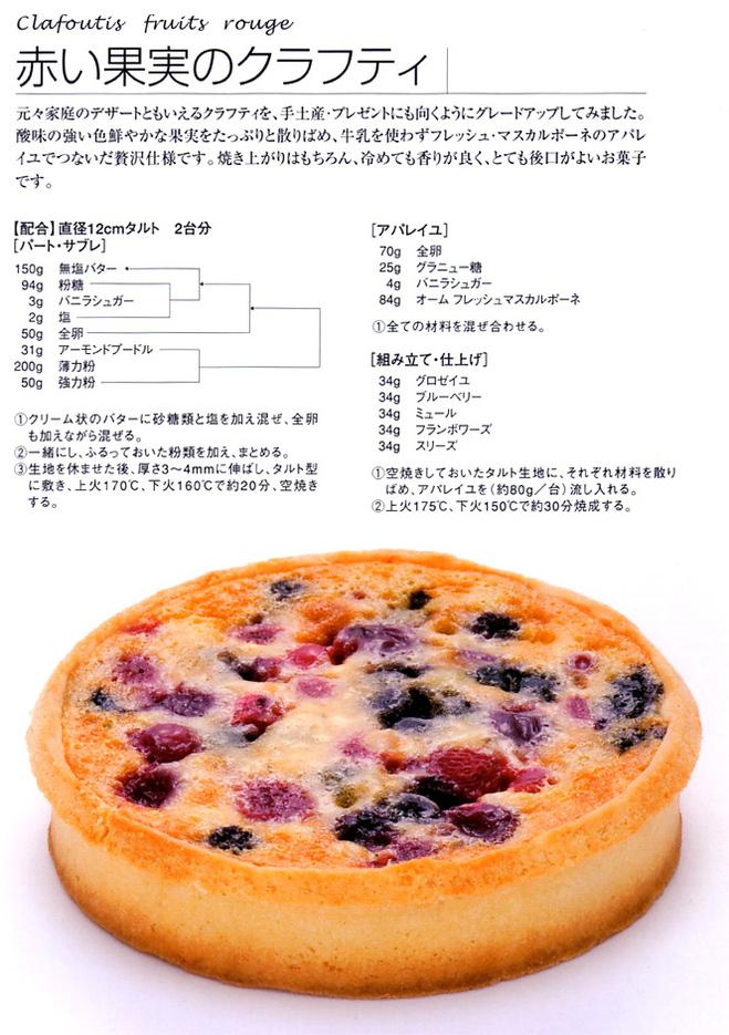 赤い果実のクラフティ